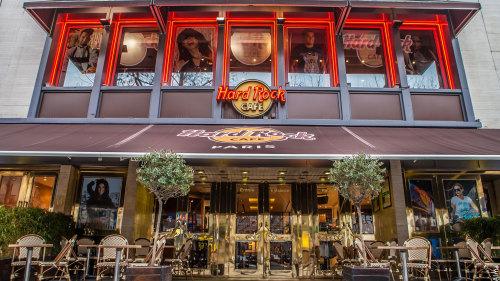 Parking Hard Rock Cafe Paris